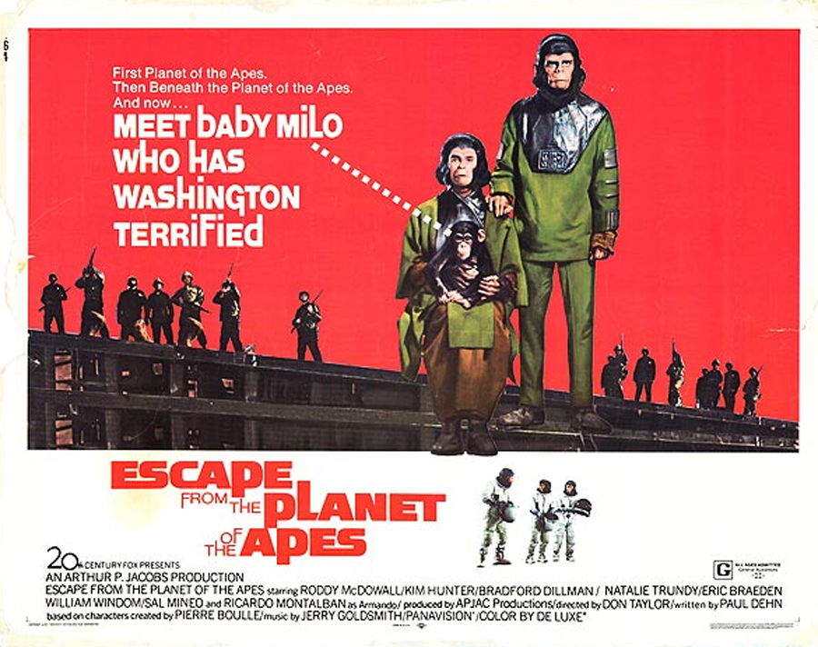 escape from the planet of the apes 1