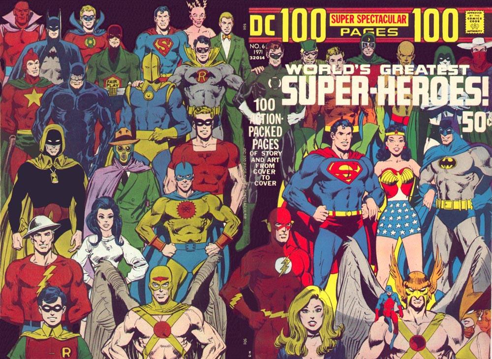 Neal Adams Superhero Cover