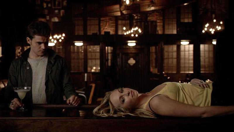The Vampire Diaries 6 16 The Downward Spiral Psycho Drive In