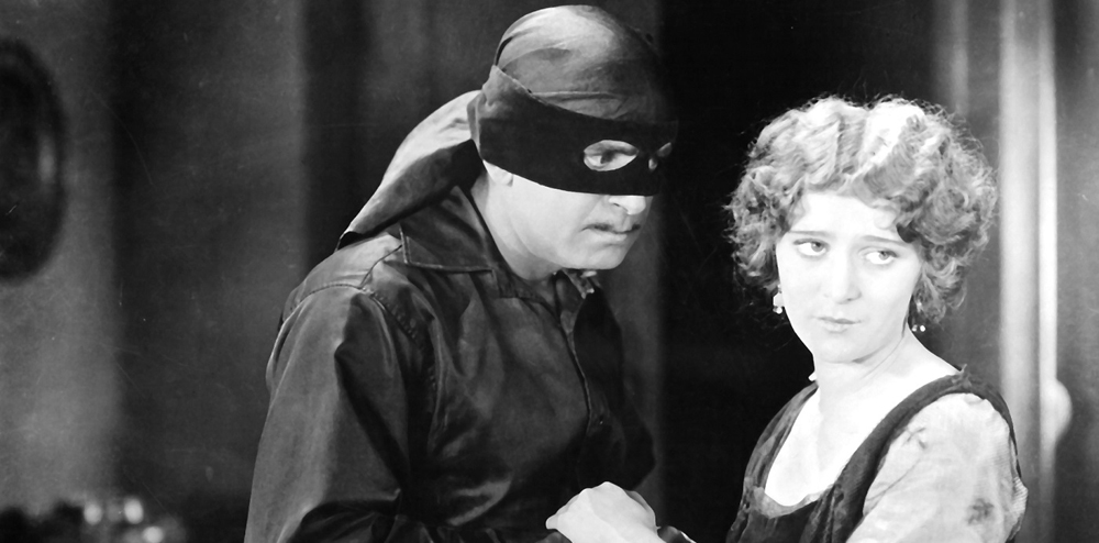 Mark of Zorro--Fairbanks
