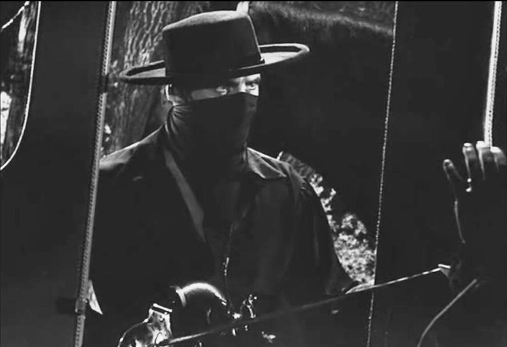Zorro at the Coach
