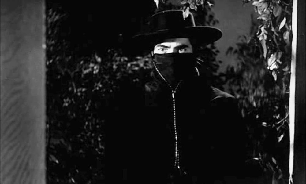 Zorro at the Window