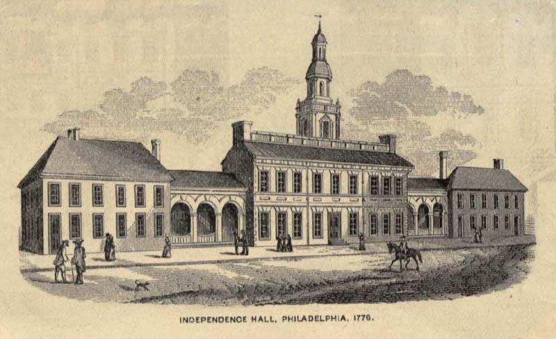 Independence Hall, Philadelphia 1776