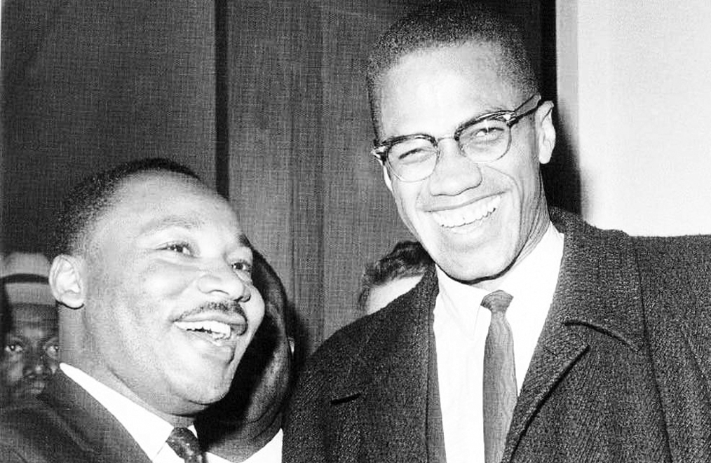malcolm x and martin luther king meet