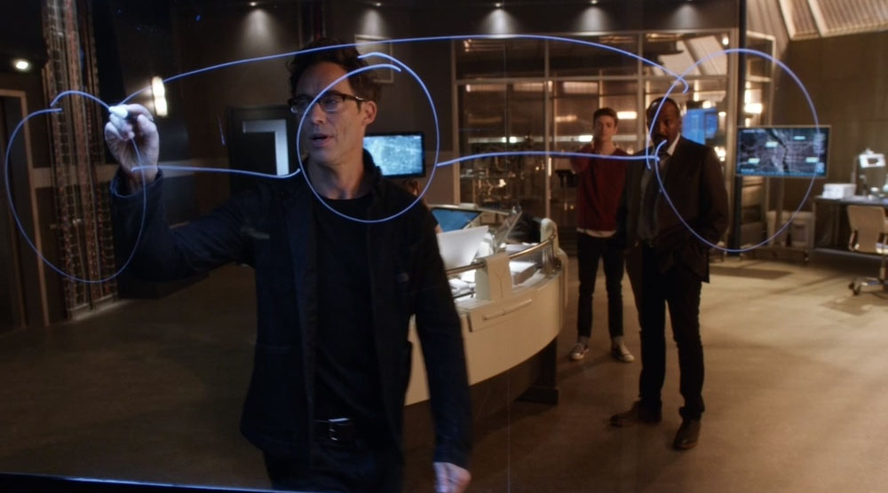 the flash return of the reverse flash 6