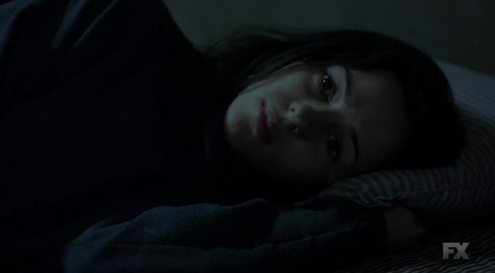 Nina Sick in Bed
