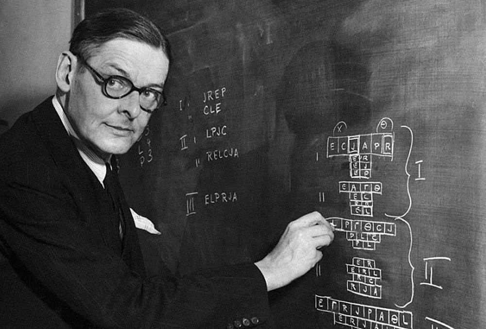 TS Eliot Mapping Out the Four Quartets