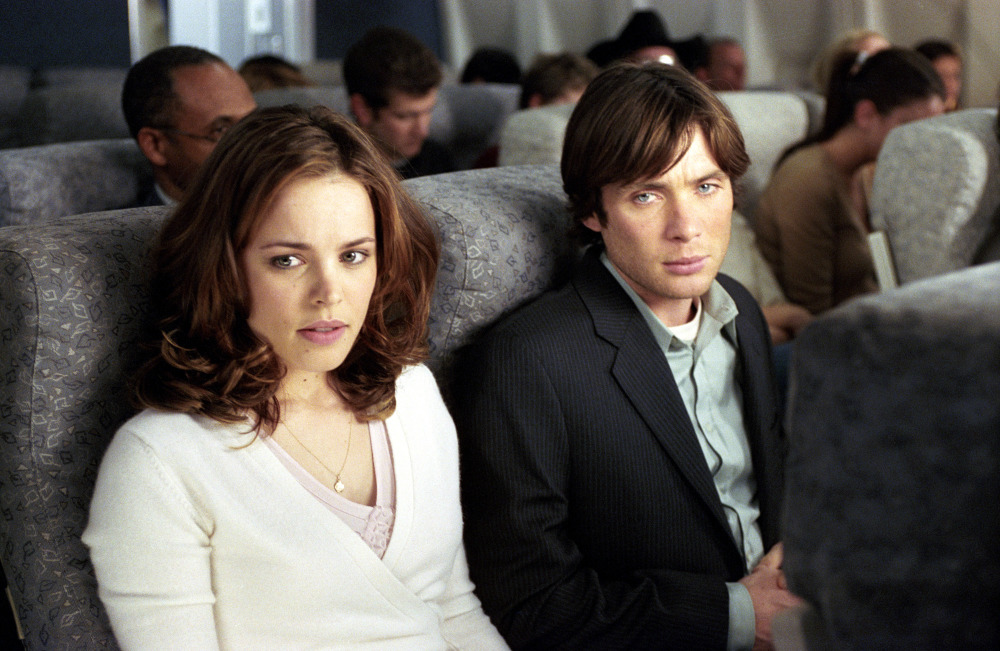 (L-R) Rachel McAdams and Cillian Murphy in a scene from the motion picture Red Eye. --- DATE TAKEN: rec'd 08/05 No Byline DreamWorks Pictures HO - handout ORG XMIT: ZX37839