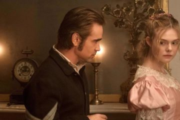 The Beguiled (2017) (L to R) Colin Farrell as John McBurney and Elle Fanning as Alicia